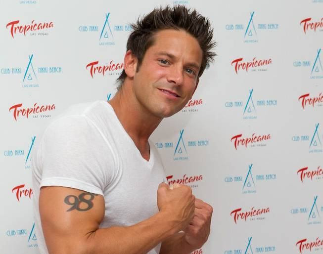 Jeff Timmons at the Nikki Beach and Club Nikki White Party Grand Opening at the Tropicana on May 26, 2011.