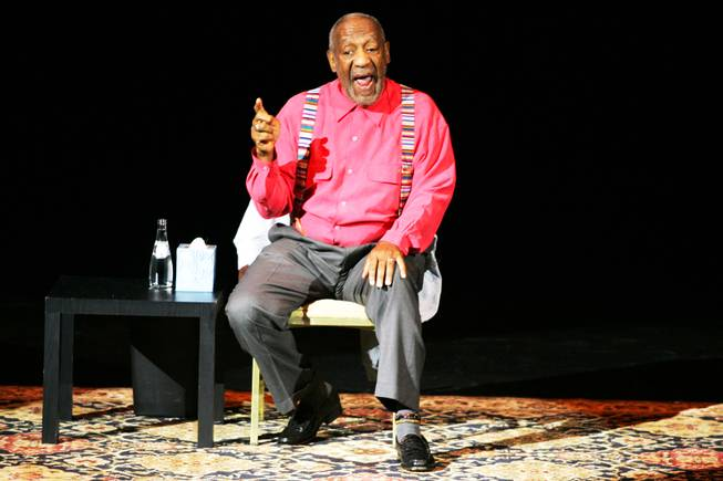 Bill Cosby performs inside the showroom at Treasure Island Friday, May 27, 2011.