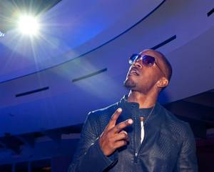 Jamie Foxx Performs at Club Nikki