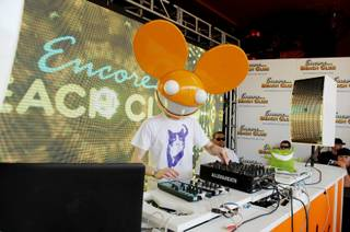 Deadmau5 at the first anniversary of Encore Beach Club at the Encore on May 30, 2011.
