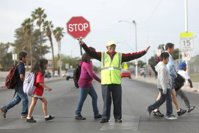 Crossing Guard Francisco Esteban