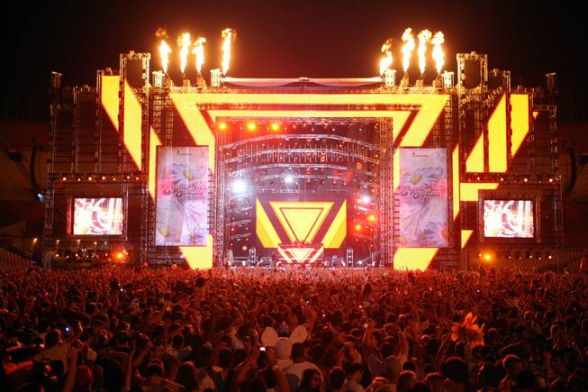 The 2010 Electric Daisy Carnival in L.A.