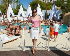 Sasha Grey Spins at Nikki Beach