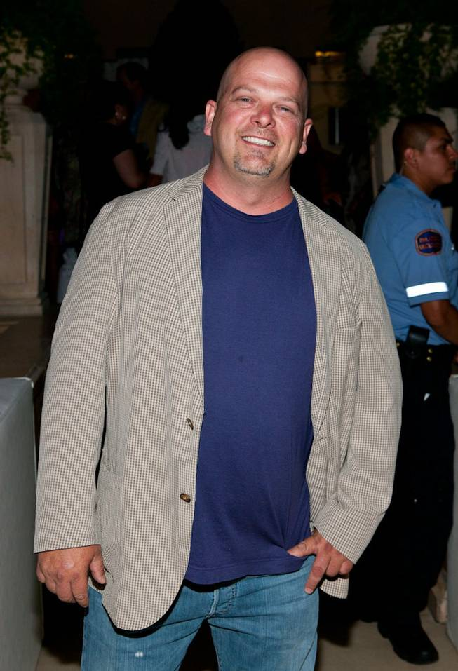 Rick Harrison at the Simon G Jewelry Summer Soiree at Azure Luxury Pool on June 4, 2011.
