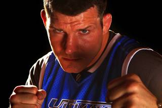 The Ultimate Fighter season 14 coach Michael Bisping.