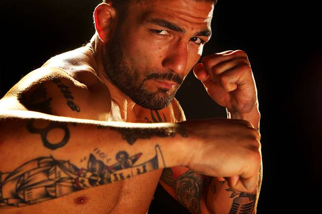 The Ultimate Fighter season 14 contestant Akira Corassani.