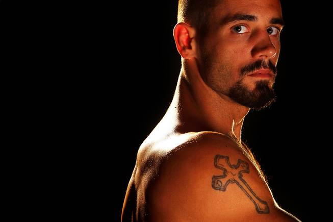 The Ultimate Fighter season 14 contestant Dustin Neace.