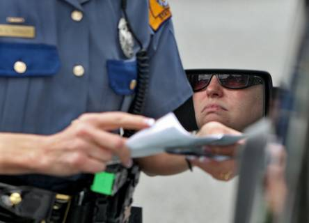 Cell phone enforcement