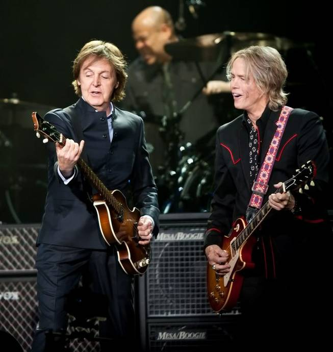 Sir Paul McCartney at MGM Grand Garden Arena on June 10, 2011.