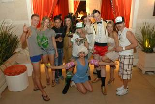 Absinthe cast members at Encore Beach Club at the Encore on June 9, 2011.