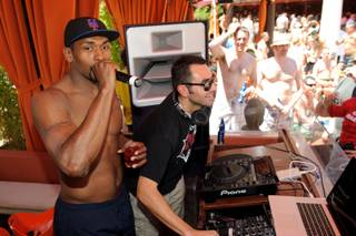 Ron Artest at Tao Beach and Tao at the Venetian on June 11, 2011.