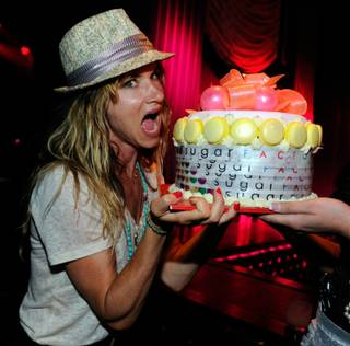 Juliette Lewis at Sugar Factory at Paris on June 11, 2011.