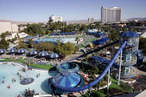 A view of the Wet 'n Wild water park during its last day of operation Sunday, September 26, 2004.