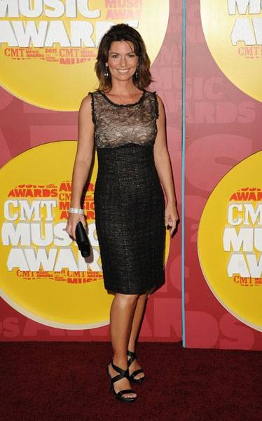 Shania Twain at the 2011 CMT Music Awards in Nashville.