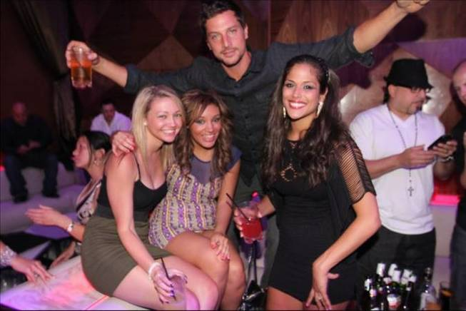 MTV's <em>The Real World: Las Vegas</em> cast members dedicate memorabilia and party at Vanity at the Hard Rock Hotel.