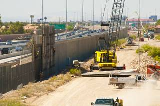 Various materials, such as copper wiring, aluminum beams, fuel and steel rebar have been stolen from highway construction sites along U.S. 95.