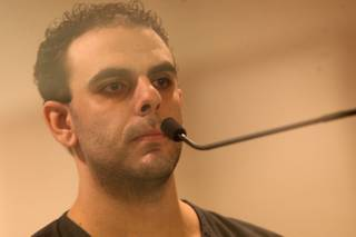 Anthony Carleo appears at the Regional Justice Center on June 16, 2011. He has admitted to robbing the Suncoast and Bellagio casinos last December.