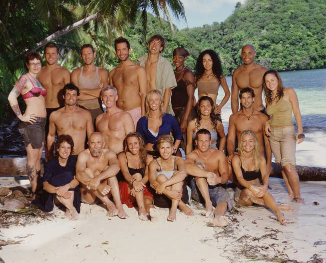 "The 10th edition of CBS' ""Survivor,"" set in the Pacific island nation of Palau, includes these 20 castaways, shown in this undated photo from CBS, who will try to outwit, outplay and outlast each other to win the $1 million prize. ""Survivor Palau,"" premieres Thursday, Feb. 17, 2005. Back row,from left: Angie Jakusz, Jonathan Libby, James Miller, Coby Archa, Ian Rosenberger, Jolanda Jones, Janu Tornell and Ibrehem Rahman. Middle row, from left; Gregg Carey, Tom Westman, Kimberly Mullen, Stephenie Lagrossa, Bobby Jon Drinkard and Ashlee Ashby. Bottom row, from left; Wanda Shirk, Williard Smith, Katie Gallagher, Caryn Groedel, Jeff Wilson and Jennifer Lyon."