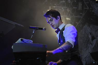 Panic! at the Disco at the House of Blues at Mandalay Bay on June 18, 2011.