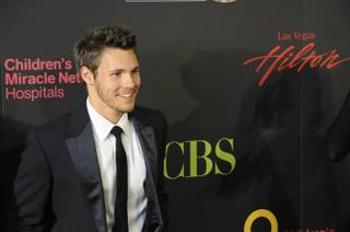 Actor Scott Clifton, The Bold and the Beautiful, walks the red carpet at the 2011 Daytime Emmy Awards live at the Las Vegas Hilton, Sunday June 19th 2011.