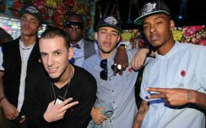 The New Boyz at Hard Rock Hotel