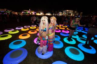 The Electric Daisy Carnival at Las Vegas Motor Speedway on June 25, 2011.