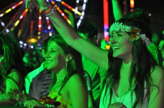 Day two at the Electric Daisy Carnival on June 25, 2011 at the Las Vegas Motor Speedway.