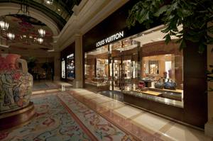 The Louis Vuitton store at the Bellagio on June 28, 2011.