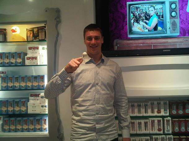 Tyler Hansbrough at Sugar Factory at the Paris.
