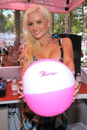 Holly Madison Hosts Go Pool Party at Flamingo