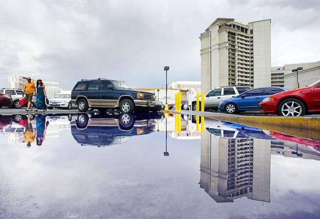 Caesars to phase out free parking at 8 Las Vegas resorts