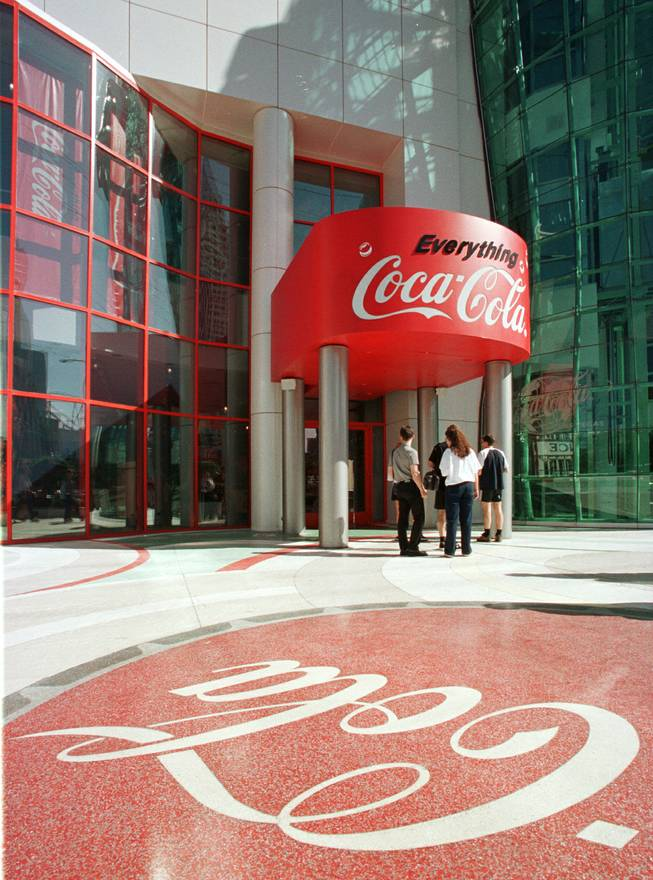 The World of Coca-Cola museum on the Las Vegas Strip. Oct. 21, 1997. SUN FILE PHOTO