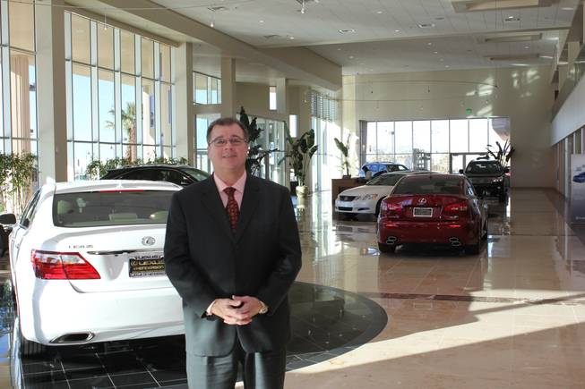 Lee Butler, General Manager at Lexus of Las Vegas