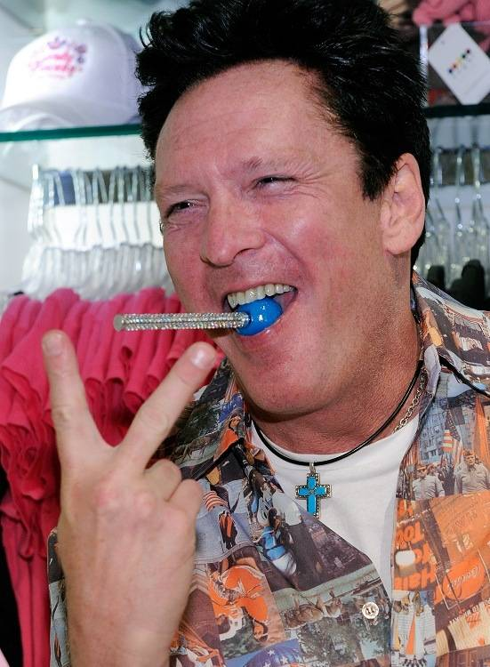 Michael Madsen and Ray J at Sugar Factory, Chateau and Gallery on July 16 and 17, 2011.