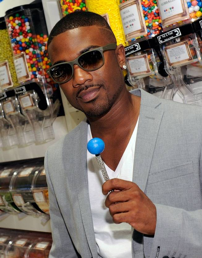 Ray J at the Sugar Factory at the Paris Las Vegas on July 16, 2011.