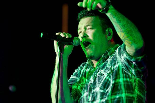 Smash Mouth performs for HDNet TV at Hard Rock Cafe ...