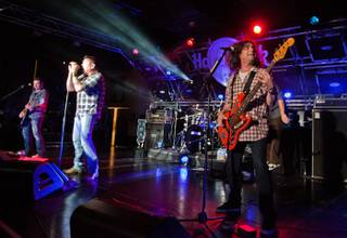 Smash Mouth performs for HDNet TV at Hard Rock Cafe on The Strip on July 17, 2011.