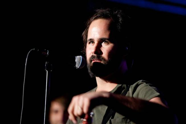 Big Talk, featuring The Killers drummer Ronnie Vannucci as frontman, performs its debut concert at Hard Rock Cafe on The Strip on July 20, 2011.