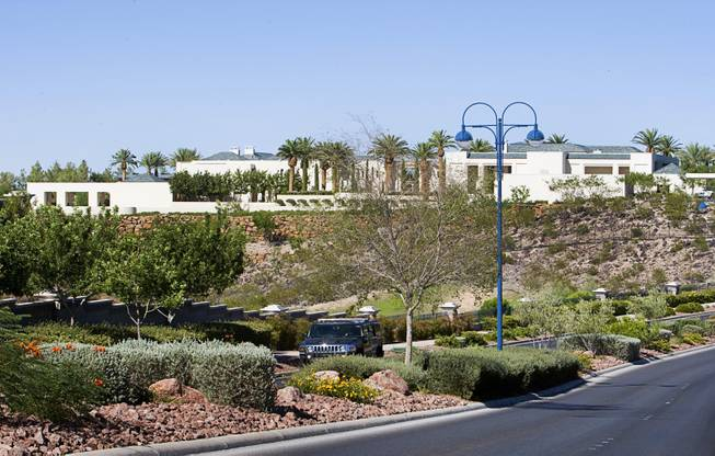 A view of a home owned by eBay founder Pierre Omidyar is shown in Henderson Thursday, July 21, 2011.