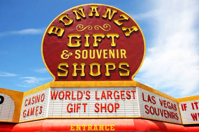 The Worlds Largest Gift Shop that sits on the Northwest corner of Sahara Avenue and Las Vegas Boulevard is seen Thursday, July 28, 2011.