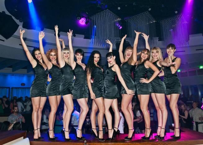 DJs Sex Panther and Crazy Horse Paris at Club Nikki/Nikki Beach at Tropicana ...