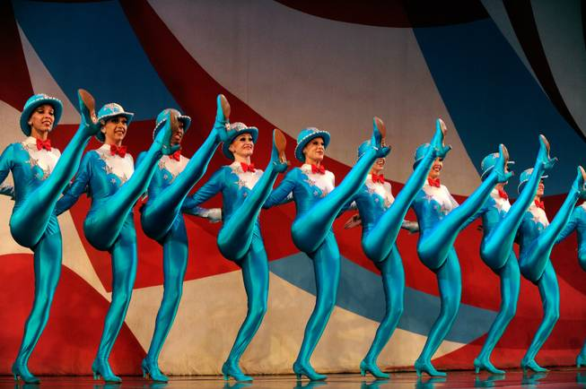 The 30th anniversary performance of <em>Jubilee!</em> at Bally's Las Vegas ...