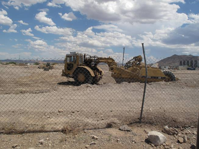 Construction crews are preparing the site for the future home of WinCo Foods, which is scheduled to open in Henderson next spring.