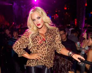 Lacey Schwimmer at Hard Rock Hotel's Revel and Vanity