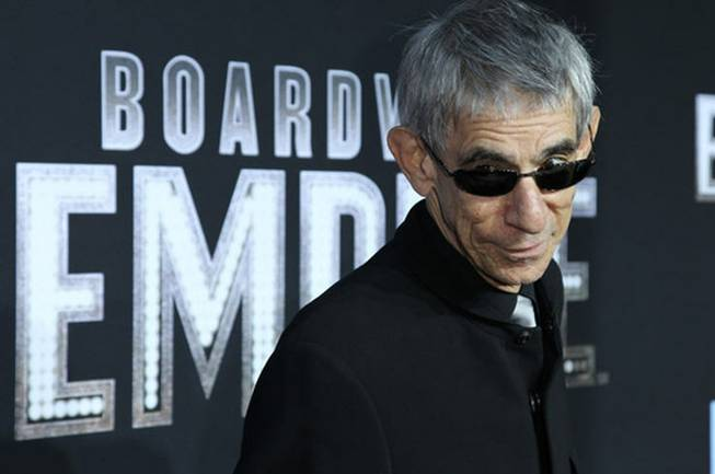 Richard Belzer attends the premiere of HBO's <em>Boardwalk Empire</em> in December.