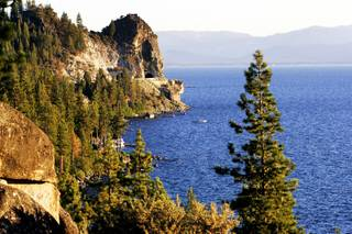 The view of Lake Tahoe from Logan Shoals Vista on the Nevada side of Lake Tahoe on Wednesday, Aug. 10, 2011.