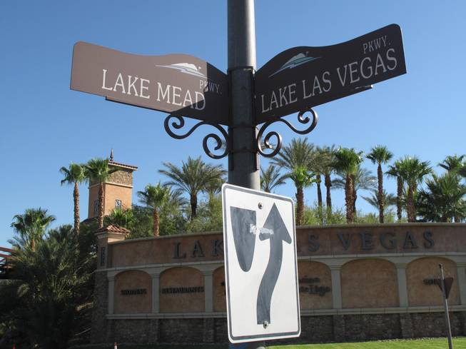 Lake Las Vegas Parkway is getting a $1.8 million face-lift to smooth the road and get rid of potholes.  The construction began last week and is scheduled to be finished in November.