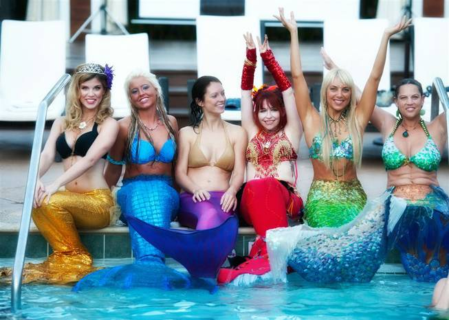 The mermaid convention and awards at Silverton Casino Lodge in Las Vegas on Aug. 12 and 13, 2011.