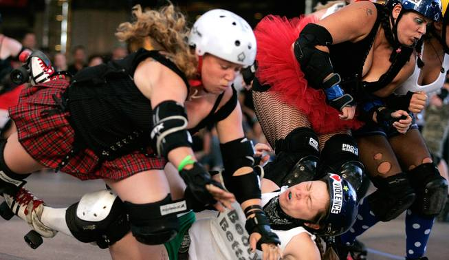 Roller Derby convention, 2007.