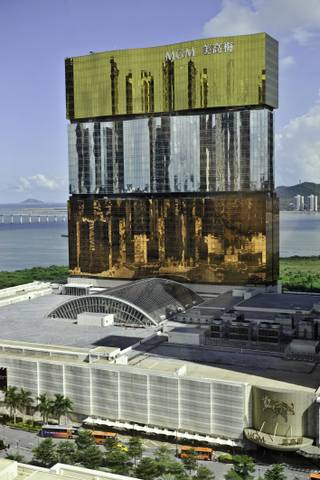 A rendering of the MGM Macau.